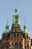 Hamburg - historic Speicherstadt. Famous old Speicherstadt in Hamburg, build with red bricks, warehouse district Royalty Free Stock Images