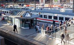 hamburg huvudstation Royaltyfri Foto