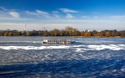 Hamburg im Winter 2016 Germany!! Royalty Free Stock Photo