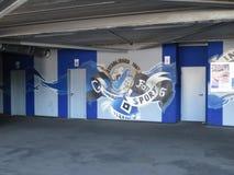 Hamburg Imtech arena Arkivfoton