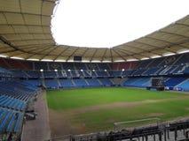Hamburg, Germany. Imtech arena. Hamburg city, imtech arena architecture of the city royalty free stock photos
