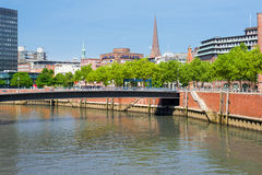 Hamburg In Summer Royalty Free Stock Image