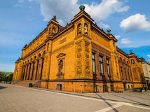 Hamburg Kunsthalle art museum hdr. HAMBURG, GERMANY - CIRCA MAY 2017: Hamburg Kunsthalle art museum, hdr royalty free stock image