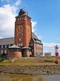 Hamburg Lotsenhaus Stockfotos
