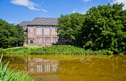 The Hamburg Museum, Germany. The Hamburg Museum (also known as Museum for Hamburg History), a history museum located near the Planten un Blomen park in the stock images