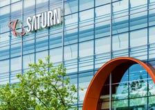 HAMBURG NIEMCY, Maj, - 22, 2016: Saturn sklep Zdjęcie Stock