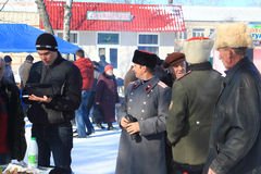 Antyczny Rosyjski święto narodowe - Obraz Stock