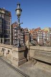 Hamburg - Old houses at the Nicolai Fleet Royalty Free Stock Photo