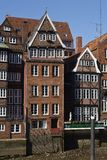 Hamburg - Old houses at the Nicolai Fleet Royalty Free Stock Photography