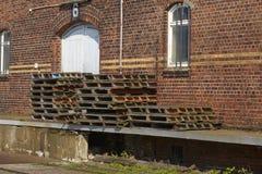 Hamburg - Old ware house Stock Images