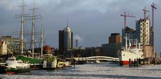 hamburg opery port Zdjęcie Royalty Free