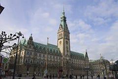 Hamburg Rathaus Lizenzfreies Stockbild