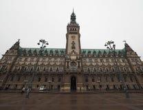 Hamburg Rathaus city hall. HAMBURG, GERMANY - CIRCA MAY 2017: Hamburg Rathaus (city hall) in the Altstadt (old city Stock Images