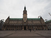Hamburg Rathaus city hall Royalty Free Stock Image