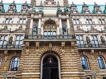 Hamburg Rathaus city hall hdr Royalty Free Stock Photography