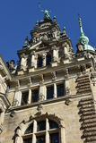 Hamburg Rathaus in Germany Stock Images