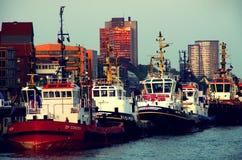 Hamburg ships Stock Image