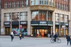 Hamburg shopping Stock Photography