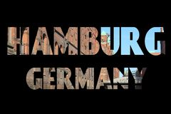 Hamburg sign Royalty Free Stock Photography