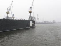 hamburg skeppsvarv fotografering för bildbyråer