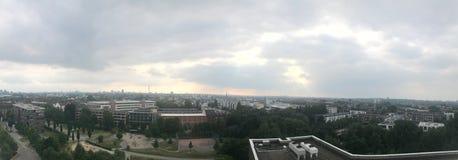 Hamburg-Skyline stockbild