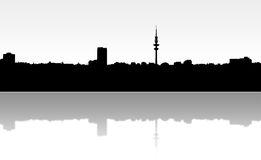 Hamburg Skyline Stock Photography