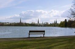 Hamburg Skyline Royalty Free Stock Photos