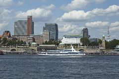 Hamburg - Skyline Stock Photography