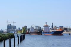 Hamburg Skyline Royalty Free Stock Image