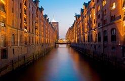 Hamburg speicherstadt Royalty Free Stock Image