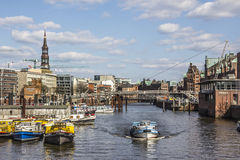 Hamburg Speicherstadt Royalty Free Stock Photography