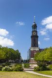 Hamburg St. Michaelis Church Stock Image