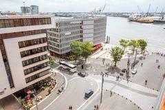 Hamburg-Stadt in Germany stockbilder