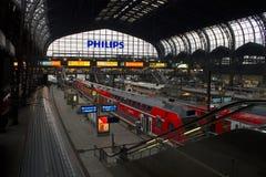 Hamburg station Arkivfoto