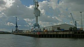 Hamburg Stueckgut Hafen stock video