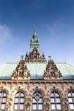 Hamburg Town Hall Stock Images