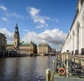 Hamburg Town Hall Stock Image
