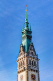 Hamburg town hall Stock Images