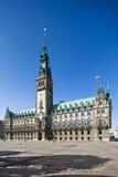 Hamburg Town Hall Royalty Free Stock Photos