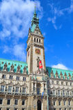 Hamburg Town Hall Royalty Free Stock Images