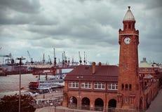 Hamburg Town Hall Stock Photos