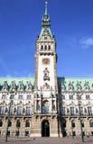 Hamburg town hall, Rathaus Royalty Free Stock Photo