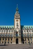 Hamburg townhall Royalty Free Stock Photo
