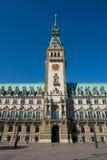 Hamburg Townhall Royalty Free Stock Photo