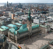 Hamburg townhall Royalty Free Stock Image