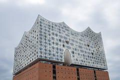 """Hamburg Tyskland†""""Augusti 14, 2017: Elbe filharmonisk konserthall Arkivfoton"""
