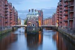 Hamburg Tyskland. Arkivfoton