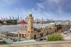 Hamburg Tyskland Arkivbilder