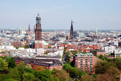 Hamburg view, Spring 2008 Stock Photography