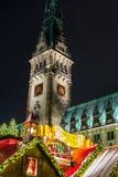 Hamburg Weihnachtsmarkt, Deutschland Lizenzfreie Stockfotos